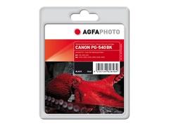 AgfaPhoto 21 ml - Schwarz - Tintenpatrone (Alternative zu: Canon 5222B005, Canon PG-540XL)