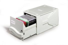 Durable 5256-10 - Gehäusebox - 26 Disks - Grau - 195 mm - 325 mm - 165 mm