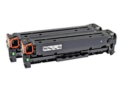 AgfaPhoto 2er-Pack - Schwarz - Tonerpatrone (Alternative zu: HP 131X, HP CF210X, HP CF210XD, Canon 731 H BK)