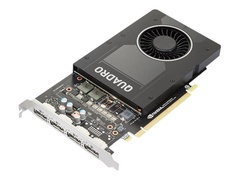 Lenovo NVIDIA Quadro P2200 - Grafikkarten - Quadro P2200 - 5 GB GDDR5X - PCIe 3.0 x16 - 4 x DisplayPort - OEM - für ThinkStation P330 (2nd Gen)