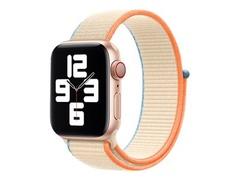 Apple 40mm Sport Loop - Uhrarmband für Smartwatch - Normalgröße - Cremefarben - Demo - für Watch (38 mm, 40 mm)
