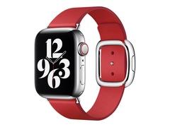 Apple 40mm Modern Buckle - Uhrarmband für Smartwatch - Größe L - Scharlach - für Watch (38 mm, 40 mm, 41 mm)