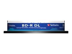 Verbatim 10 x BD-R DL - 50 GB 6x - Spindel