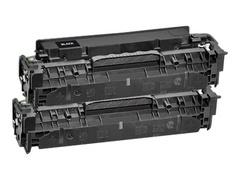 AgfaPhoto 2er-Pack - Schwarz - Tonerpatrone (Alternative zu: HP CC530A, HP 304A, HP CC530AD)