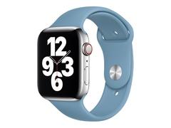 Apple 44mm Sport Band - Uhrarmband für Smartwatch - Normalgröße - Northern Blue - Demo - für Watch (42 mm, 44 mm)