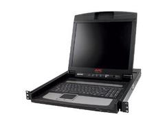 "APC 17"" Rack LCD Console - KVM-Konsole - Rack-montierbar"