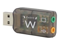 Eminent Ewent EW3751 - Soundkarte - 5.1 - USB 2.0 - CMedia