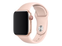 Apple 40mm Sport Band - Uhrarmband - 130-200 mm - rosa sandfarben - Demo - für Watch (38 mm, 40 mm)