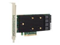 Brocade Broadcom HBA 9500-16i Tri-Mode - Speicher-Controller - 16 Sender/Kanal - SATA 6Gb/s / SAS 12Gb/s / PCIe 4.0 (NVMe)