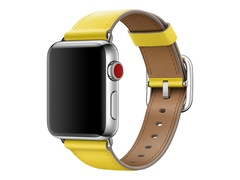 Apple 38mm Classic Buckle - Uhrarmband - 130 - 195 mm - Spring Yellow - für Watch (38 mm, 40 mm)