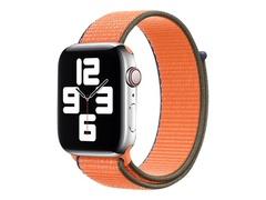 Apple 44mm Sport Loop - Uhrarmband für Smartwatch - Normalgröße - Kumquat - Demo - für Watch (42 mm, 44 mm)