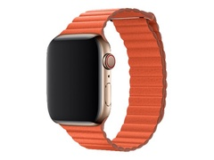 Apple 44mm Leather Loop - Uhrarmband - Medium - Sonnenuntergang - für Watch (42 mm, 44 mm)