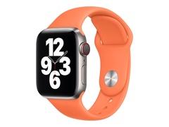 Apple 40mm Sport Band - Uhrarmband für Smartwatch - Normalgröße - Kumquat - Demo - für Watch (38 mm, 40 mm)