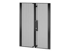 APC NetShelter SX - Rack-Tür - hinten - Schwarz
