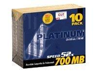 BestMedia Platinum - 10 x CD-R - 700 MB (80 Min)