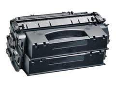 AgfaPhoto 2er-Pack - Schwarz - Tonerpatrone (Alternative zu: HP 53X, Canon 715H, HP Q7553X, HP Q7553XD)