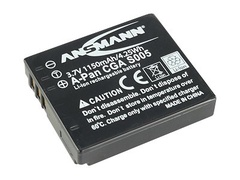Ansmann A-Pan CGA S005 - Kamerabatterie 1150 mAh