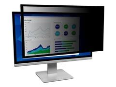 """3M Blickschutzfilter mit Rahmen für 24"""" Breitbild-Monitor - Blickschutzfilter für Bildschirme - 59.9-61 cm wide (23.6""""-24"""" wide)"""