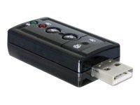 Delock USB Sound / SPDIF Adapter - Soundkarte
