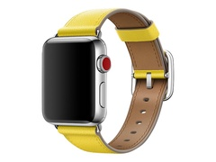 Apple 38mm Classic Buckle - Uhrarmband - 130 - 195 mm - Spring Yellow - für Watch (38 mm)