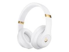 Apple Studio3 Wireless - Kopfhörer mit Mikrofon - ohrumschließend - Bluetooth - kabellos - aktive Rauschunterdrückung - Geräuschisolierung - weiß - für iPhone SE (2nd generation)