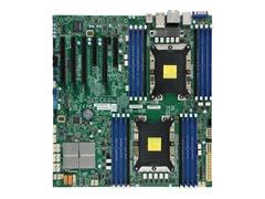 Supermicro X11DAi-N - Motherboard - Erweitertes ATX - Socket P - 2 Unterstützte CPUs - C621 - USB 3.0, USB 3.1, USB-C - 2 x Gigabit LAN - Onboard-Grafik - HD Audio (8-Kanal)