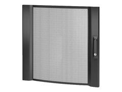 APC NetShelter SX - Rack-Tür - Vorderseite - Schwarz
