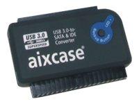 Aixcase blackline AIX-BLUSB3SI-PS - Speicher-Controller mit OneTouchEasy-Button (OTB)