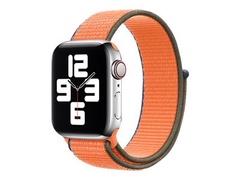 Apple 40mm Sport Loop - Uhrarmband für Smartwatch - Normalgröße - Kumquat - Demo - für Watch (38 mm, 40 mm)