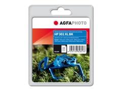 AgfaPhoto 15 ml - Schwarz - Tintenpatrone (Alternative zu: HP CH563EE, HP 301XL BK)