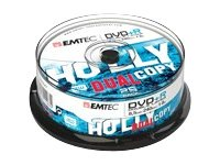 EMTEC 25 x DVD+R DL - 8.5 GB (240 Min.) 8x