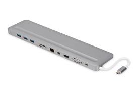 "DIGITUS 12"" Universal Notebook Docking Station, USB Type-C"