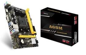 Biostar A68MHE - AMD - Socket FM2+ - AMD A - DDR3-SDRAM - DIMM - 800,1066,1333,1600,1866,2133,2400,2600 MHz