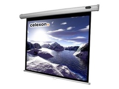 celexon Economy Manual Screen - Leinwand - Deckenmontage möglich, geeignet für Wandmontage - 275 cm (108 Zoll)