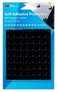 3M Elastikpuffer Mini-Pack schwarz 56 Stueck 12.7x3.5mm