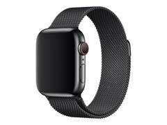 Apple 40mm Milanese Loop - Uhrarmband für Smartwatch - 130 - 180 mm - Space Black - für Watch (38 mm, 40 mm)