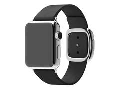 Apple 38mm Modern Buckle - Größe L - Uhrarmband - Schwarz - für Watch (38 mm)