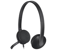 Logitech H340 - Kopfhörer - Kopfband - Büro/Callcenter - Graphit - Binaural - 1,8 m