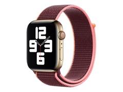 Apple 44mm Sport Loop - Uhrarmband für Smartwatch - Normalgröße - Pflaume - Demo - für Watch (42 mm, 44 mm)