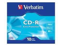 Verbatim 10 x CD-R - 700 MB (80 Min) 52x