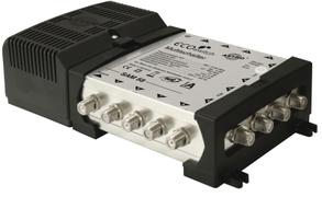 ASTRO SAM 58 Ecoswitch - Schwarz - Silber - Metall - Kunststoff - 230V/50Hz - 217 x 124 x 57 mm