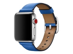Apple 38mm Classic Buckle - Uhrarmband - 130 - 195 mm - Electric Blue - für Watch (38 mm, 40 mm)