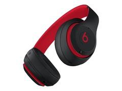 Apple Studio3 Wireless - The Beats Decade Collection - Kopfhörer mit Mikrofon - ohrumschließend - Bluetooth - kabellos - aktive Rauschunterdrückung - Geräuschisolierung - Rot, Schwarz - für iPhone SE (2nd generation)