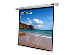 celexon Economy electric screen - Leinwand - Deckenmontage möglich, geeignet für Wandmontage - motorisiert - 250 cm (98 Zoll)