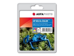 AgfaPhoto 1 - Tintenpatrone (Alternative zu: HP 301XL, HP CH564EE)