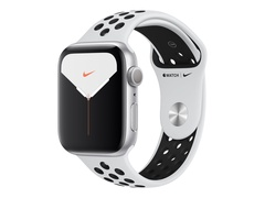 Apple Watch Nike Series 5 (GPS) - 44 mm - Aluminium, Silber