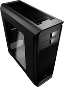 AEROCOOL ADVANCED TECHNOLOGIES Aerocool Aero-500 - Midi-Tower - PC - Stahl - Schwarz - ATX,Micro ATX,Mini-ITX - 15,5 cm