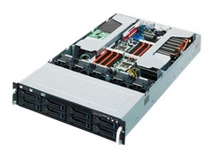 "ASUS ESC4000 - Server - Rack-Montage - 2U - zweiweg - keine CPU - RAM 0 GB - SATA - Hot-Swap 8.9 cm (3.5"")"