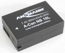 Ansmann A-Can NB 10 L - Batterie - Li-Ion - 850 mAh