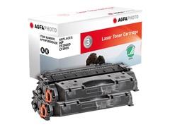 AgfaPhoto 2er-Pack - Schwarz - Tonerpatrone (Alternative zu: HP 80X, HP CF280X, HP CF280XD)
